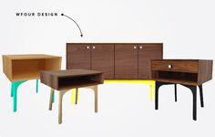 wfour design furniture via www.mstetson.com
