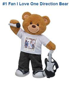 I love one direction bear
