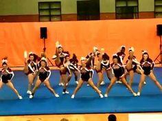 Reading High School Cheerleading at MSSAA North Regionals 2012 - YouTube Cheer Dance Routines, Cheer Moves, Cheer Jumps, Cheerleading Videos, High School Cheerleading, Cheerleading Pictures, Cool Cheer Stunts, Football Cheer, Cheer Coaches