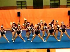 Reading High School Cheerleading at MSSAA North Regionals 2012