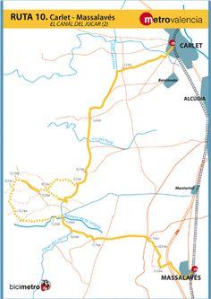 Metrovalencia - Bicimetro - The Júcar - Túria Canal (1)