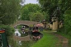 Canal Boat, Oxford Canal, Thrupp, Oxford