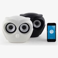 Owl Bluetooth Speaker by Kreafunk | MONOQI #bestofdesign