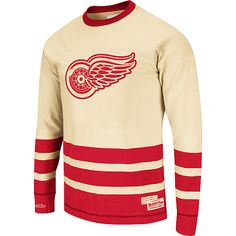 Mitchell & Ness Detroit Red Wings Open Ice Long Sleeve T-Shirt - MLB.com Shop