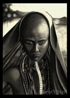 """..Αιθιοπίδα.. - Βασισμένο σε φωτογραφία του Joey L. από το πρότζεκτ """"The Cradle of Mankind"""""""