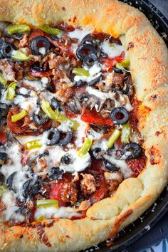 42 best cast iron skillet pizza images cooking recipes dishes food rh pinterest com