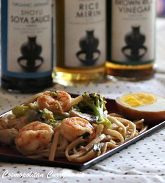 Yakiudon with Shrimps and Vegetables is the healthy version of the popular Japanese street food , called yakisoba. This is simple, quick, easy and tasty!