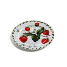 Frühstücksteller 20,5 cm ORCHARD FRUITS Erdbeere / Maxwell & Williams