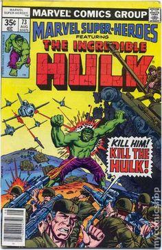 Marvel Super Heroes (1967 1st Series) 73