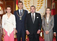 Los reyes de España, Felipe y Letizia, continúan su gira oficial, ahora por Marruecos