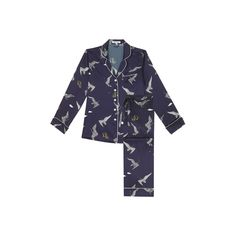 Here's a printed silk pajama set for days when you want to lounge like a goddamn emperor. Wear the top with a pair of cigarette pants or a pencil skirt for an unorthodox New Year's Eve look.