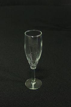 Fancy champagne glass