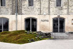 // Noma Nordic landscape, Copenhagen, Denmark by Polyform. Photography is by Wichmann+Bendtsen