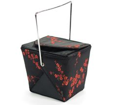 Black and Red Chinese Food Take-Out Box Evening Bag   http://stores.ebay.com/theanothercorner/