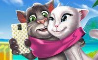 Tom & Angela Selfie Time
