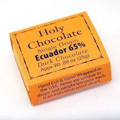 Holy Chocolate Gourmet Chocolate Bars - Ecuador 65% Single Origin - Case of 6 http://www.squidoo.com/lensmasters/itunes-store