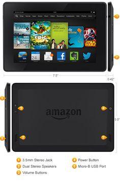 Kindle Fire HD Tablet - Best Value Kids Tablet, Family Tablet