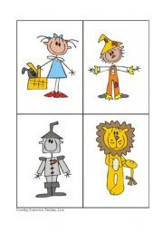 English worksheet: THE WIZARD OF OZ - 2/4 | The wizard of Oz ...