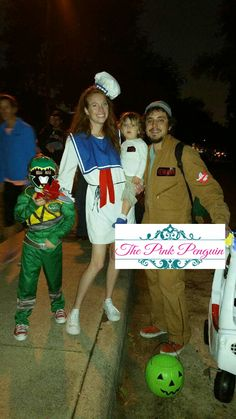 Ghostbusters Jumpsuit; Stay Puft Marshmallow Mom