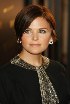 seriously thinking about cutting my hair like Ginnifer Goodwin's for summer Undercut Hairstyles Women, Pixie Hairstyles, Pretty Hairstyles, Undercut Pixie, Shaved Hairstyles, Longer Pixie Haircut, Short Pixie Haircuts, Good Hair Day, Great Hair