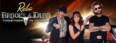 Reba, Brooks & Dunn - http://fullofevents.com/lasvegas/event/reba-brooks-dunn-12/ #lasvegasevents #Reba, Brooks & Dunn