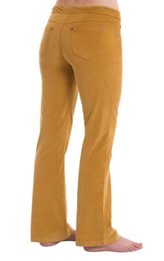 PajamaJeans® Corduroy Pants - Bootcut Honey | PajamaJeans