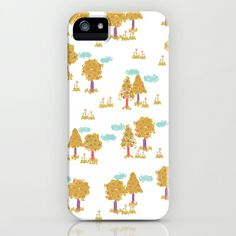 """Butterfly Garden - Trees"" Phone Cases by Rebecca Stoner"
