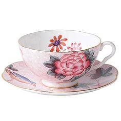 Wedgwood Cuckoo Tea Story Tea Cup & Saucer, Pink  PRICE: $50.00