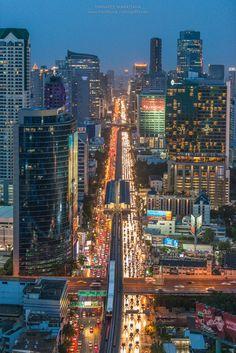 Bangkok Skyscraper Thailand.