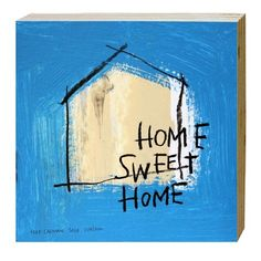 Cuadro Sweet Home. Medidas: 20 x 20 cm. Artista: The Catman.