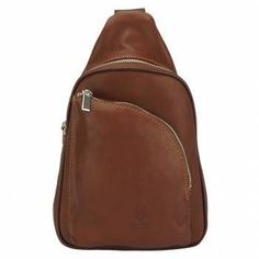 This single strap Firenze Italian leather backpack is made in gorgeous Italian calfskin leather and fits urban lifestyles perfectly: compact and sporty man bag Handbags For Men, Leather Handbags, Sling Backpack, Leather Backpack, Men's Wardrobe, Italian Leather, Man Bags, Sporty, Backpacks