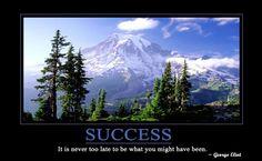 Success motivational poster HD Wallpaper