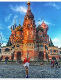Moscow is one of the top 10  most Instagrammed Cities in the world. You can't help but fall in love with its stunning architecture.