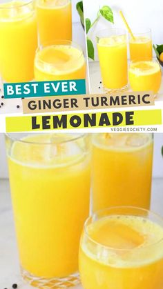 Fresh ginger turmeric lemonade recipe made with whole foods: fresh ginger and turmeric root and a touch of black peppercorns to boost the absorption of curcumin and stimulate the taste buds.