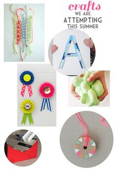 summer crafts for kids...