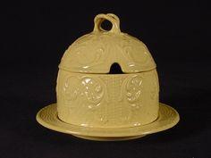 RARE Early 1800s Two Piece Honey Pot Spode Yellow Ware   eBay