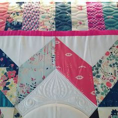 @margarita.quilts, You made my weekend amazing! Thanks for sending me this beauty to quilt.
