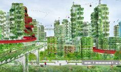 """China plans its first """"Forest City"""" to fight air pollution — #Architecture via @inhabitat"""