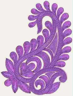 Tradisionele paisley Patch