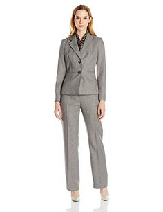 Le Suit Women's Petite Herringbone Jacket Pant and Scarf Set, Grey, 14 Le Suit http://www.amazon.com/dp/B00MK3JNWG/ref=cm_sw_r_pi_dp_Vdy8vb1MJ90MN