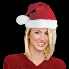 Don't forget Santa Hats for your Company Christmas Party! Embroider them with your Company Logo! Our super deluxe plush Santa Claus hat is sold by the hat. Please order in increments of 1 hat. Wholesale Promotional Products, Office Holiday Party, Santa Claus Hat, Winter Hats, Plush, Beanie, Costumes, Christmas, Warm