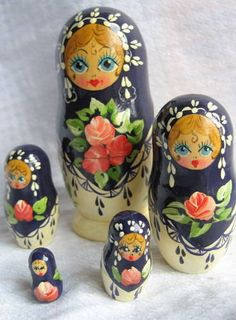 Matryoshka Dolls - like head adornment