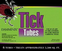 Tick Tubes -- Tick prevention and control that is safe for kids and pets -- tick control for kids, tick control for backyards, tick prevention for people Tick Tubes, Tick Control, Lyme Disease, Garden Pests, Homestead Survival, Garden Supplies, Ticks, How To Get Rid, Animals For Kids