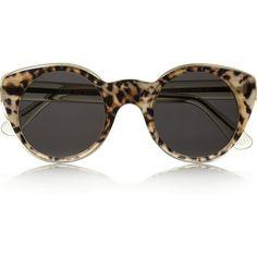 Illesteva + Zac Posen cat eye acetate sunglasses Vitrine De Moda,  Acessórios De Moda, 0ca8f53968