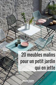 20 meubles de jardin malins / meubles pour petit jardin / jardin mobilier / mobilier malin / mobilier outdoor / tendance outdoor