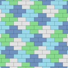 quilts pattern using 2.5 by 4.5 inch rectangles - Google Search