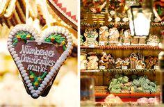 §§§ . Lebkuchenhaus at the German Christmas Markets