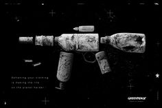 Print advertisement created by Possible, Russia for Greenpeace, within the category: Public Interest, NGO. Dog Games, Planets, Weapons, Advertising, Concept, Graphic Design, How To Make, Print Ads, Russia