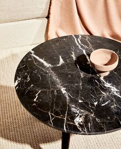 MARBLE TABLE - FURNITURE - LIVING ROOM | Zara Home United Kingdom Table Furniture, Living Room Furniture, Zara Home Canada, Marble House, Marble Room, Pallet Tv Stands, Zara Home España, Tv Stand Console, Living Room Mirrors