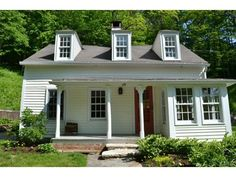 28 Barker Road, New Milford, CT 06776 — Charming Antique Cape built in 1812, beautifully renovated in 2011. Original exposed beams & floors, lots of winter sun, cozy f/p, open kitchen, S/S appliances, pull out cabinets. MBR has French doors to private deck, 2nd Fl. laundry, tiled bathtub. Gorgeous stone walls w/patio areas. Land abuts open space in desirable Merryall. Installed 2011: Energy Efficient Goodman Furnace w/10 yr. warranty, new A/C condenser, pipes, new electrical panels upgraded…